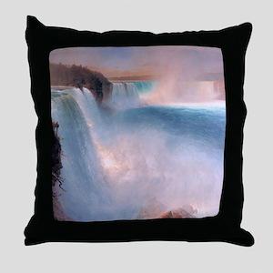 nf_shower_curtain2 Throw Pillow