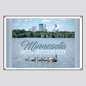 Minnesota 10,000 Lakes Banner