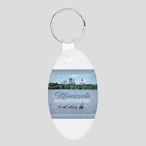 Minnesota 10,000 Lakes Keychains