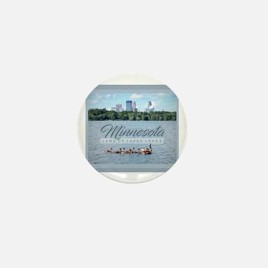 Unique Minneapolis Mini Button