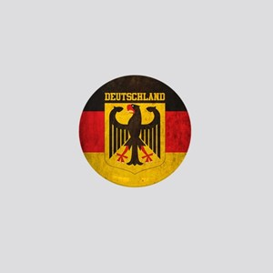 Vintage Deutschland Flag Mini Button