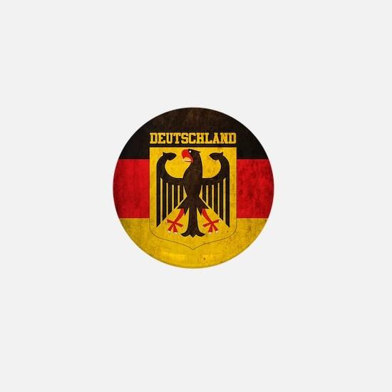 Vintage Deutschland Flag Mini Button
