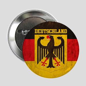 """Vintage Deutschland Flag 2.25"""" Button"""