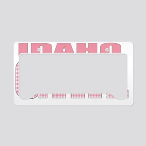 Idaho - more states w/this de License Plate Holder