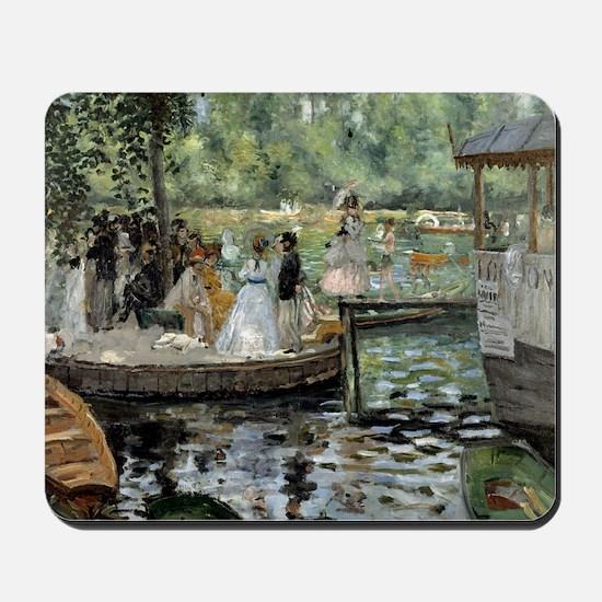 Pierre-Auguste Renoir La Grenouillere Mousepad