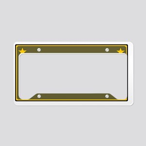 PROUD ARMY MOM License Plate Holder
