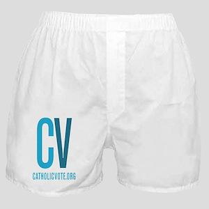 Official CatholicVote Logo Boxer Shorts