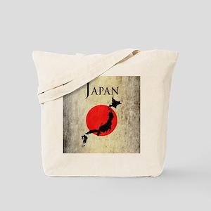 Map Of Japan Tote Bag