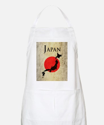 Map Of Japan Apron