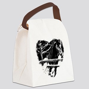 Horse Lover Canvas Lunch Bag
