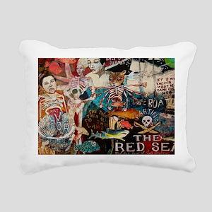 Kali Cat Rectangular Canvas Pillow