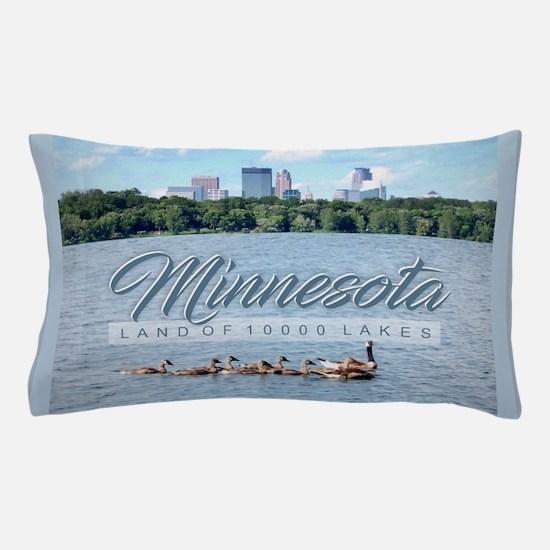 Minnesota 10,000 Lakes Pillow Case