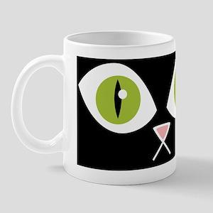 LOLCat Wide Eye Coin Purse Front Mug