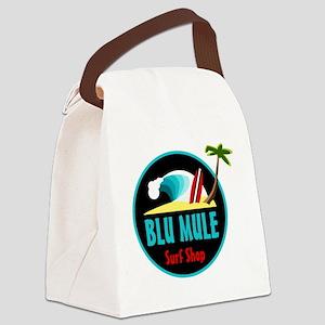 Blu Mule Surf Shop Canvas Lunch Bag