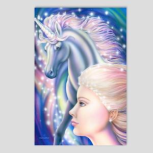 Unicorn Princess 16x20 Postcards (Package of 8)