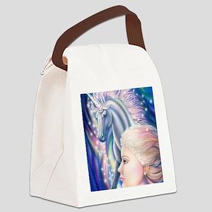 Unicorn Princess 16x20 Canvas Lunch Bag