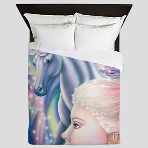 Unicorn Princess 16x20 Queen Duvet