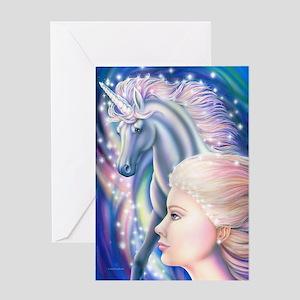 Unicorn Princess 16x20 Greeting Card