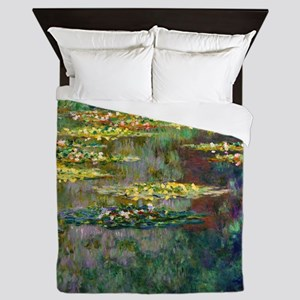 Shower Monet Le Bassin Queen Duvet