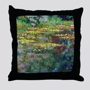 Shower Monet Le Bassin Throw Pillow