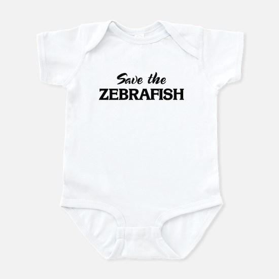 Save the ZEBRAFISH Infant Bodysuit
