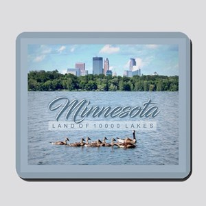 Minnesota 10,000 Lakes Mousepad