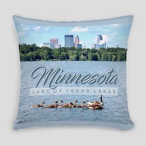 Minnesota 10,000 Lakes Everyday Pillow