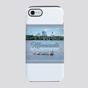Minnesota 10,000 Lakes iPhone 7 Tough Case