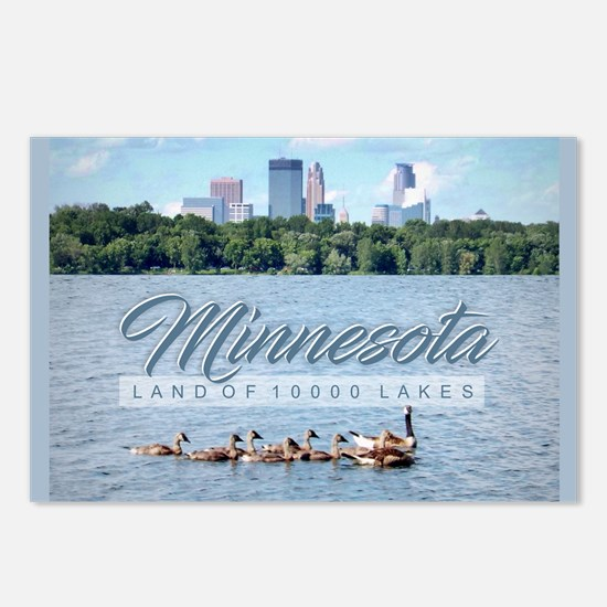Minnesota 10,000 Lakes Postcards (Package of 8)
