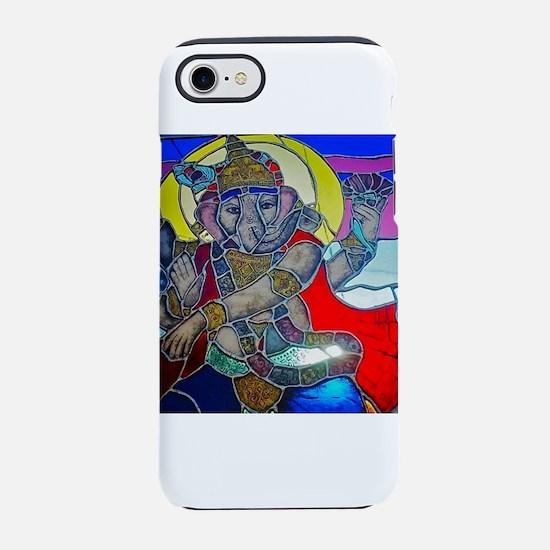 Ganesh 3 iPhone 7 Tough Case