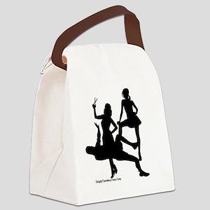 Pedo Chop Canvas Lunch Bag
