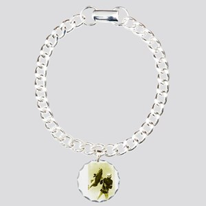 Aqua Culture Spearing Gr Charm Bracelet, One Charm