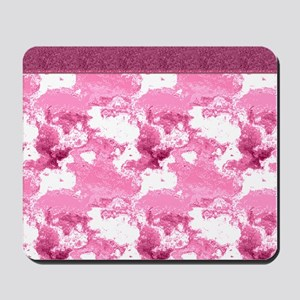 Pink Shower Curtain Mousepad