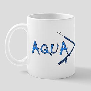 AQUA CULTURE SPEARGUNS aqua blue Mug