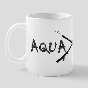 AQUA CULTURE SPEARGUNS GREY and BLACK Mug