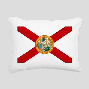 Florida State Flag Rectangular Canvas Pillow