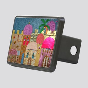 Holy Land Happy Christmas Rectangular Hitch Cover