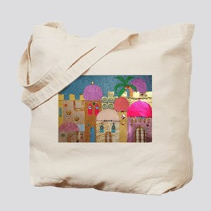 Holy Land Happy Christmas Tote Bag