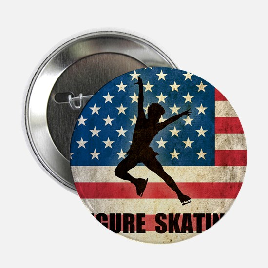 "Figures Skating 2.25"" Button"