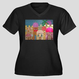 Holy Land Happy Christmas Plus Size T-Shirt