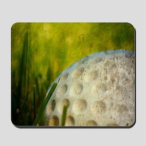 Vintage Golf Ball Mousepad