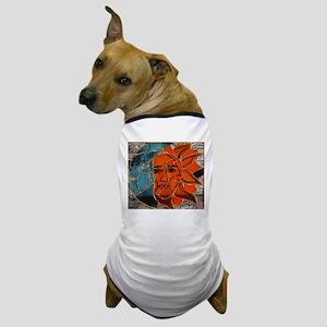 Hatha Sun/Moon Version 3 Dog T-Shirt