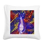 Arriving, the Power of Love Square Canvas Pillow
