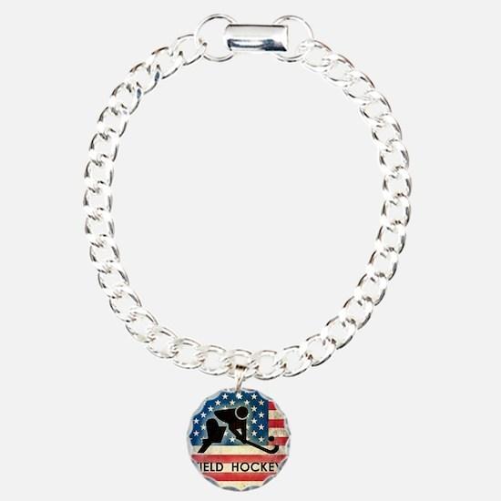 Grunge USA Hockey Bracelet