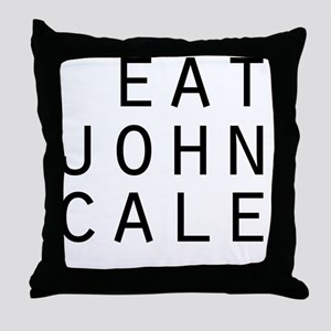 eat john cale ping Throw Pillow