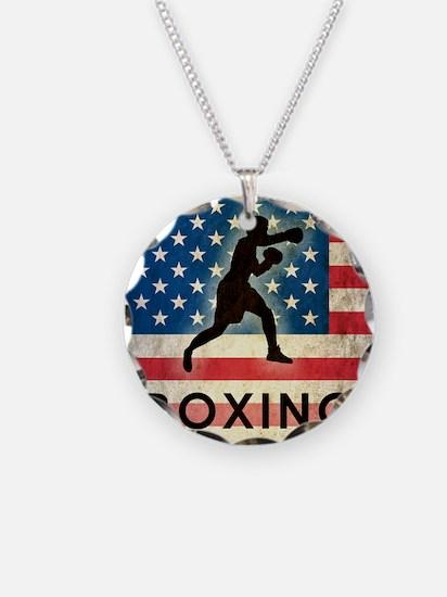Grunge Boxing Necklace