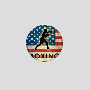 Grunge Boxing Mini Button