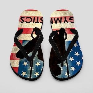 Grunge Gymnastics Flip Flops