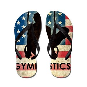 22c1bbd097c716 Gymnastics Flip Flops - CafePress
