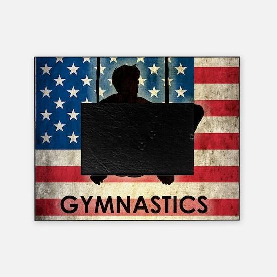 Grunge Gymnastics Picture Frame